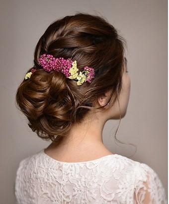 新娘发型步骤