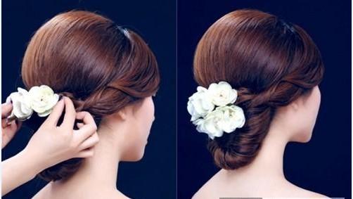 新娘发型详细步骤