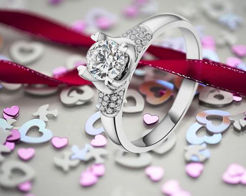 乐维斯求婚钻戒-彩色爱恋